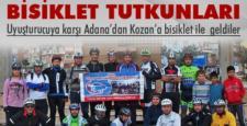 Bisiklet tutkunları Kozan'ı gezdi