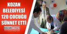 Kozan Belediyesi 120 Çocuğu Sünnet Etti