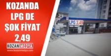 Kozanda LPG de Şok Fiyat 2,49tl