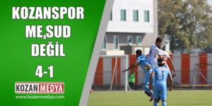 Kozanspor Kupada Mesud Değil 4-1
