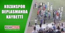 Kozanspor Deplasmanda Olaylı Maçı Kaybetti 1-0