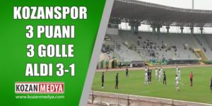Kozanspor Deplasmanda 3 Puanı 3 Golle Aldı 3-1