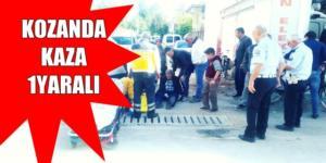 Kozanda Kamyonet Bisiklete Çarptı 1 Yaralı