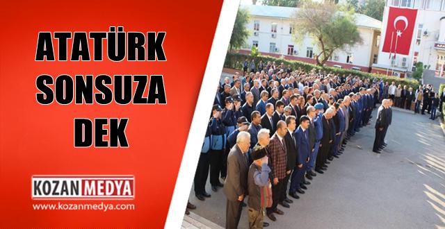 Kozanda Atatürk Anıldı