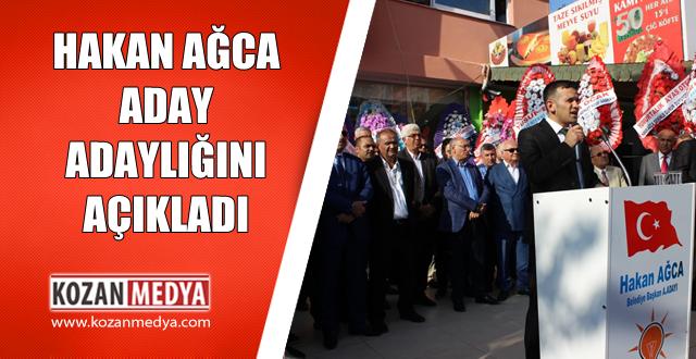 Hakan Ağca AK Parti Kozan Belediye Başkan Aday Adaylığını Açıkladı