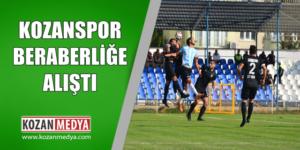 Kozanspor Beraberliğe Alıştı 0-0