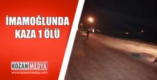 İmamoğlunda Motosiklet Logar Kapağına Çarptı Sürücü Hayatını Kaybetti