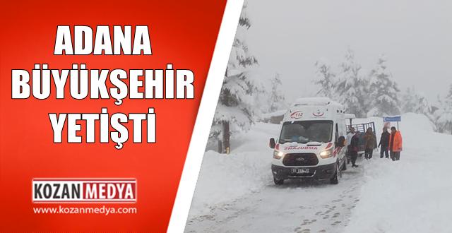 Ambulans Yolda Kaldı Büyükşehir Yetişti