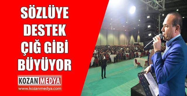 Sözlü'ye Destek Çığ Gibi Türkiye Kamu Sen'den Sözlü'ye Tam Destek
