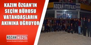 Özgan'ın Seçim Bürosu Vatandaşların Akınına Uğruyor