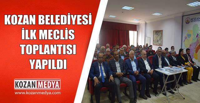 Kozan Belediyesi Meclis Toplantısı Yapıldı