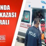 Kozanda Meydana Gelen Trafik Kazasında 3 Kişi Yaralandı