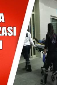 Kozan da Motosikletle Otomobil Çarpıştı 1 Yaralı