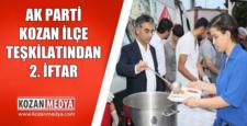 Ak Parti Teşkilatı İkinci İftar Programını Mahmutlu Mahallesinde Düzenledi