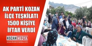 Kozan'da 19 Mayıs Atatürk'ü Anma, Gençlik ve Spor Bayramı Kutlandı.