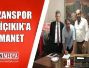 Kozanspor FK Mustafa Diliçikık'la Devam