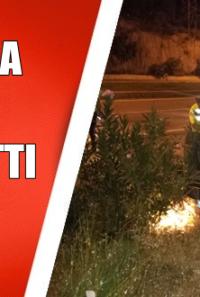 Kozanda Otomobil Takla Attı Sürücü Kayıp