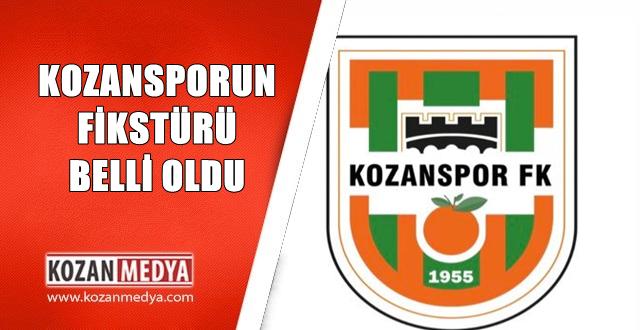 Kozanspor FK Fikstürü Çekildi