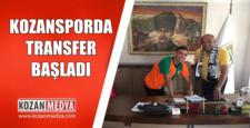 Kozanspor Transfere Başladı