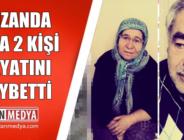 Kozanda Trafik Kazasında 2 Kişi Hayatını Kaybetti