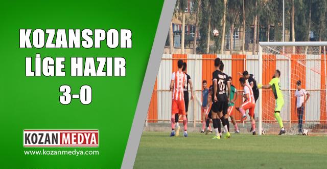 Kozanspor FK Lige Hazır 0-3