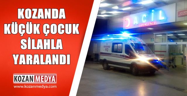 Kozan'da Havalı Tüfekle Yaralanan Çocuk Adana'ya Sevk Edildi