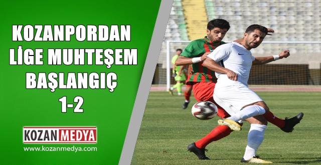 Kozanspor'dan Sezona Muhteşem Başlangıç 2-1