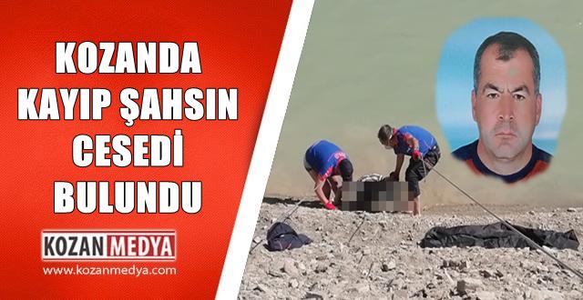 Kozanda 5 Gündür Aranan Şahsın Cesedi Gölette Bulundu