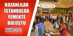 Kozanlılar İstanbulda Yemekte Buluştu
