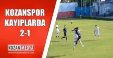 Kozanspor Kayıplarda 2-1