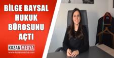 Genç Avukat Bilge Baysal, Avukatlık Bürosunu Açtı