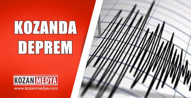 Kozanda Deprem