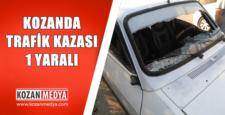 Kozanda Otomobil Karşıdan Karşıya Geçmeye Çalışan Yayaya Çarptı 1 Yaralı