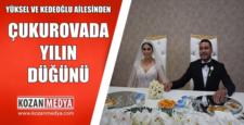 Yüksel ve Kederoğlu Ailelerinden Çukurova'da Yılın Düğünü