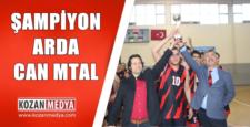 Kozanda Şampiyon Şehit Arda Can MTAL