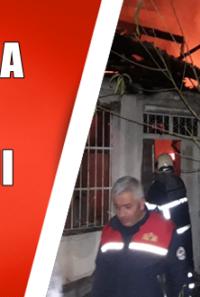 Kozan'da Ev Yangını 1 Çocuk Dumandan Etkilendi