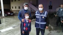Kozanda Kaybolan 10 Yaşındaki Çocuk Polis Ekiplerince Bulundu