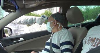 Kozan'da Korona Virüsü Tedbirleri Kapsamında Şehre Girenler Kontrol Ediliyor