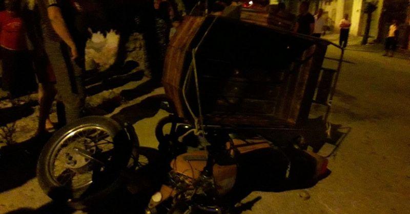 Kozan'da Motosiklet İle Otomobil Çarpıştı 4  Yaralı