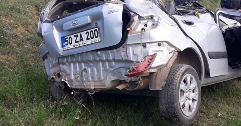 Tufanbeyli'de Feci Kaza 1 Ölü