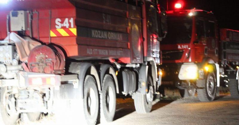 Turgutlu'da Orman Yangını 1 Kişi Gözaltına Alındı