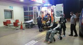 Feke'de Trafik Kazası 6 Yaralı