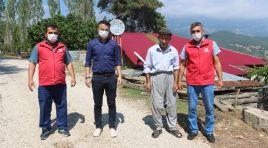 Feke'de 80 Yaşındaki Vatandaştan Örnek Davranış