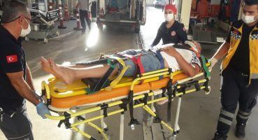 Kozan Bucak Yolunda Trafik Kazası 2 Yaralı