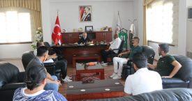 Kozanspor Futbol Kulübünden Belediye'ye Ziyaret
