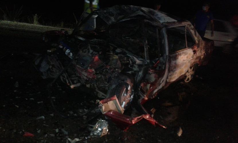 İmamoğlu'nda Feci Kaza  3 Kişi Yanarak Öldü