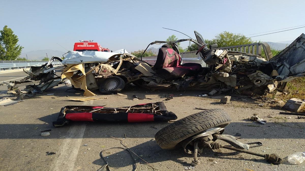Kozan'da Trafik Kazası