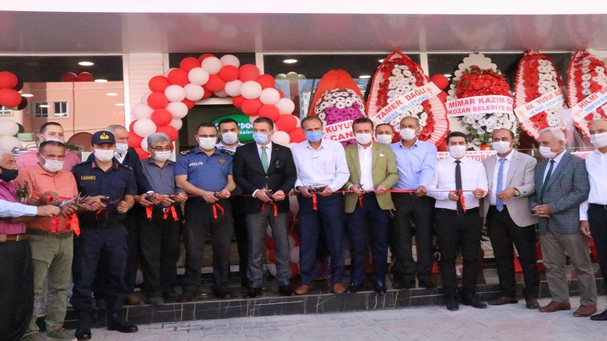 Güneydoğu Süt Ürünleri Fabrika Satış Mağazası Açıldı
