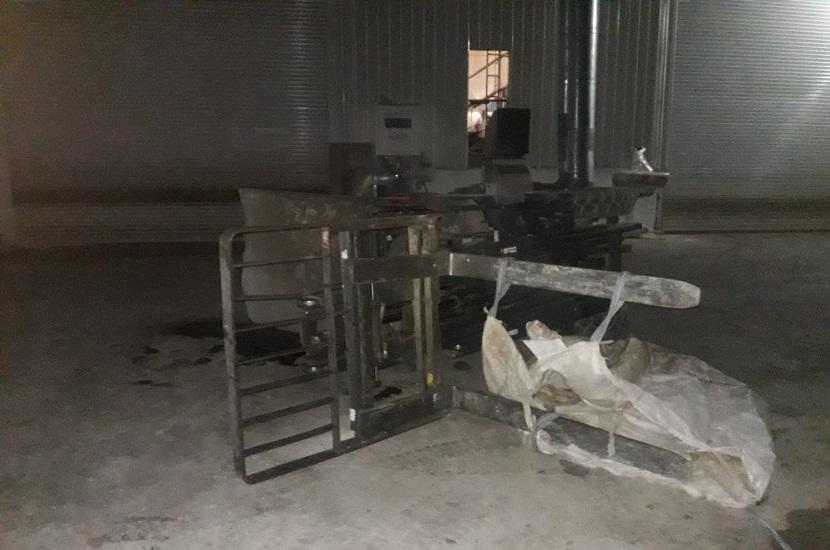 Kozanda Forklift Devrildi 1 Ağır Yaralı