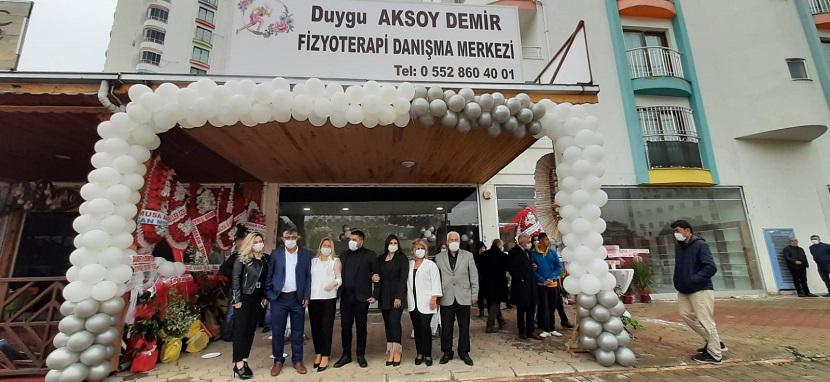 Kozanda Duygu Aksoy Demir Fizyoterapi Merkezi Açıldı